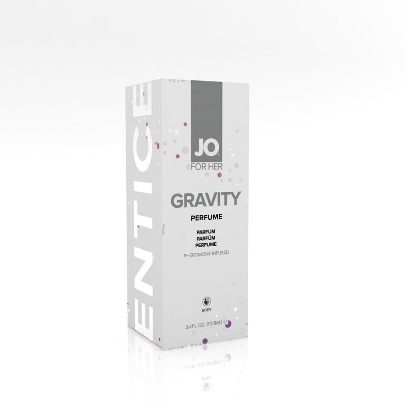 Jo for Her Gravity Pheromone Infused Perfume - 3.4 Fl. Oz. / 100ml JO40680