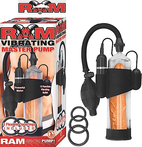 Ram Vibrating Master Pump - Clear NW2417