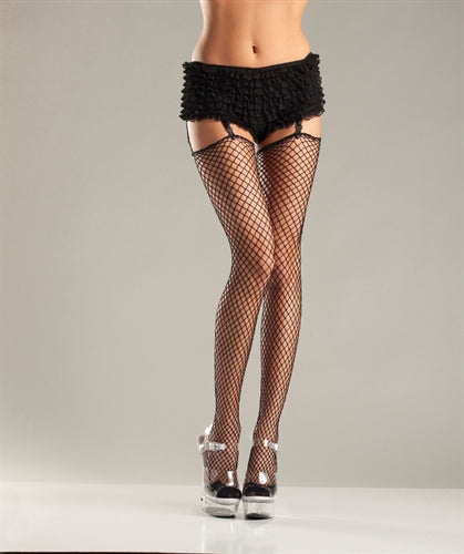 Unfinished Top Industrial Net Stockings - One Size BW-626B