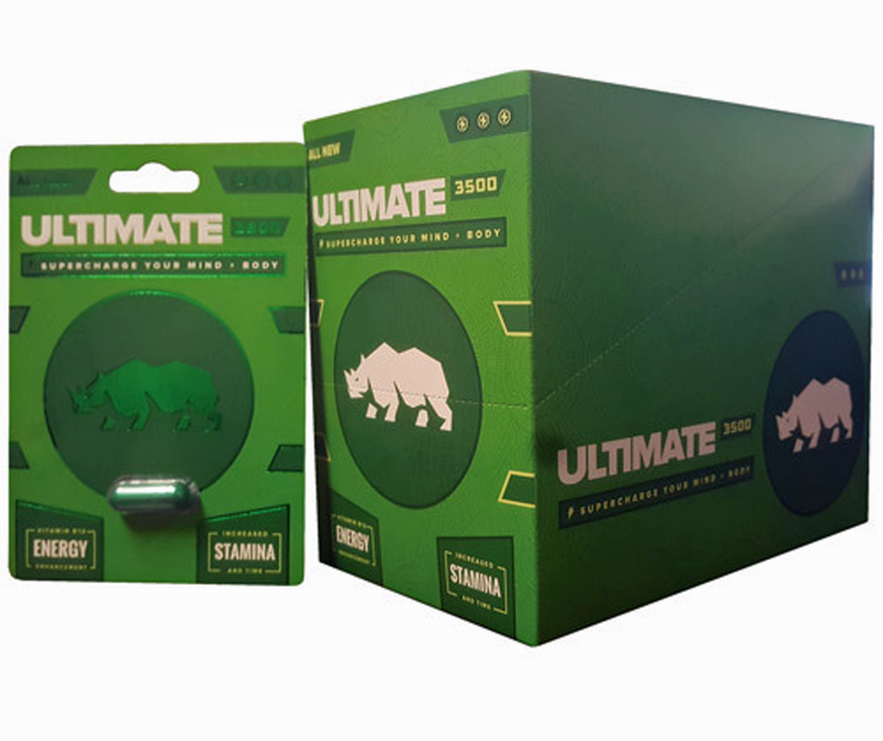Rhino Ultimate 3500 - 30 Count Display PS-RU3500D