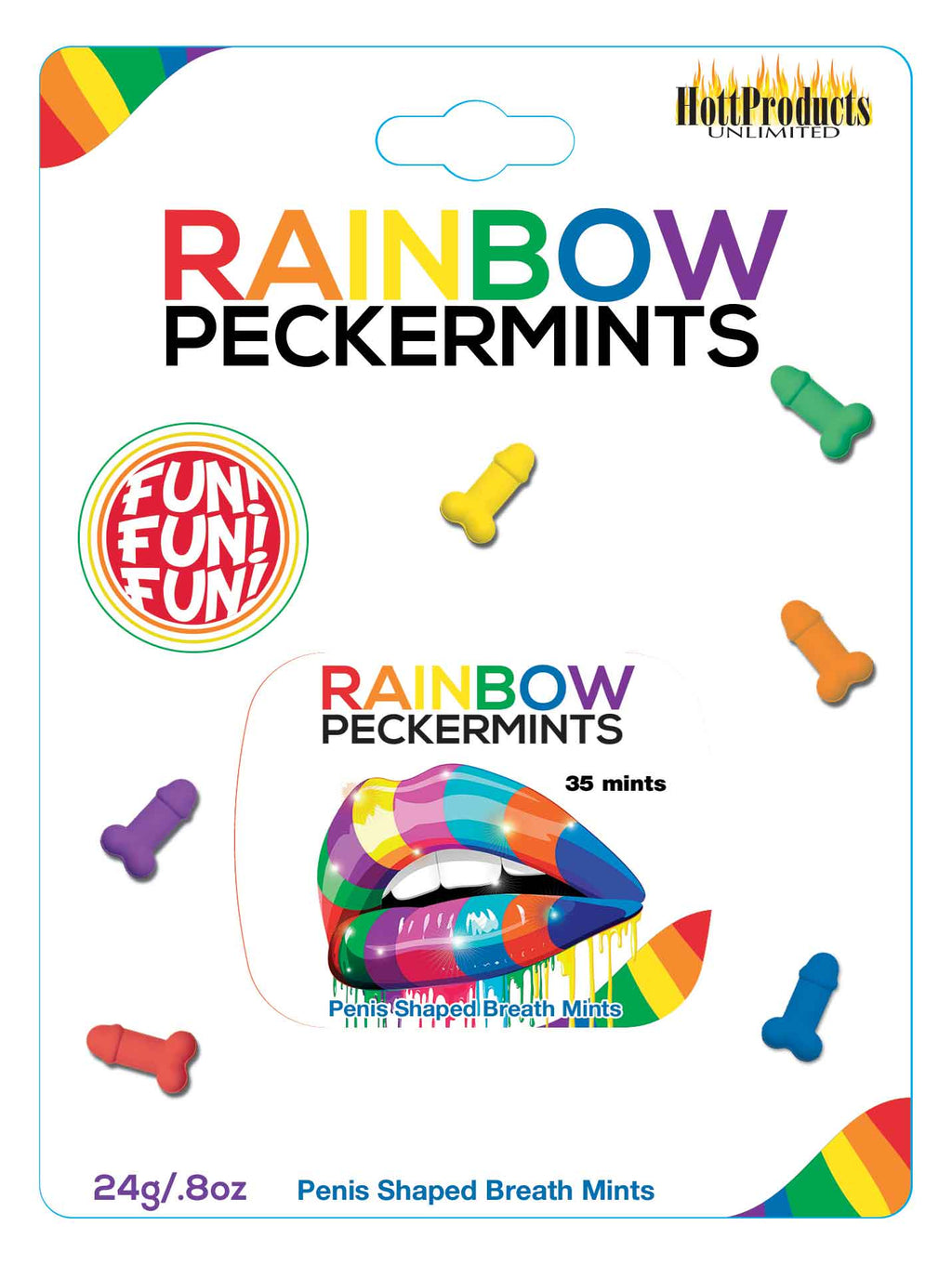 Rainbow Peckermints HTP3213