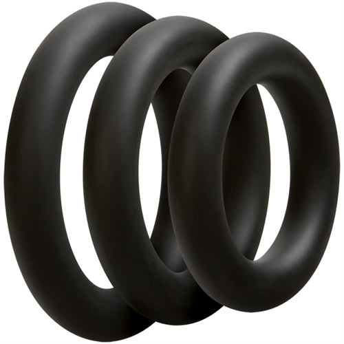Optimale 3 C-Ring Set - Thick - Black DJ0690-04