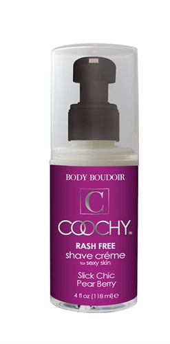 Coochy Rash-Free Shave Creme - Slick Chic Pear Berry - 4 Oz. CE1023-04