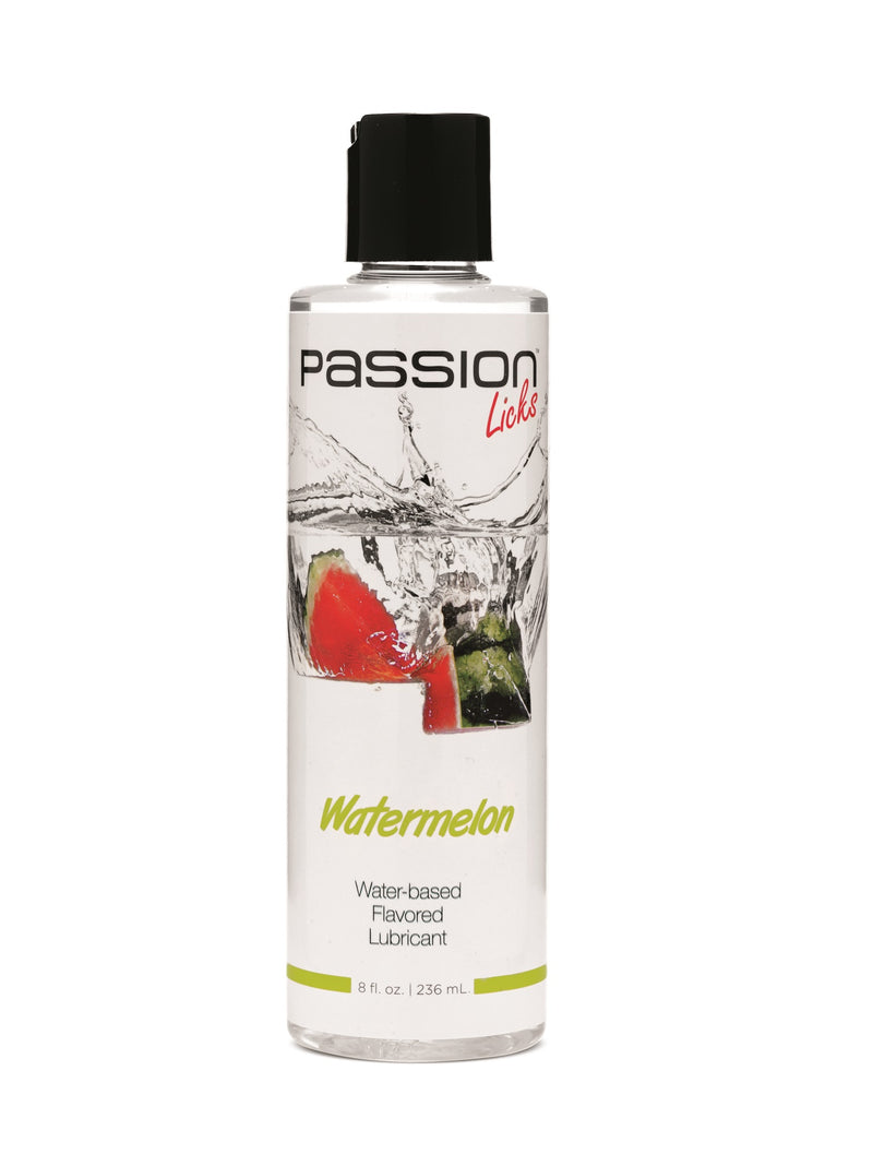 Passion Licks Watermelon Water-Based Flavored Lubricant - 8 Fl. Oz / 236 ml PL-AE805-WATERMELON