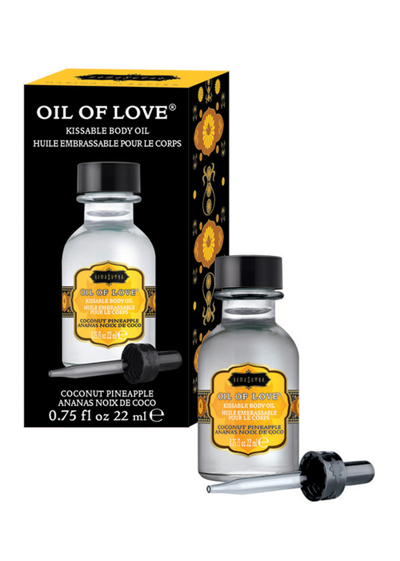 Oil of Love - Coconut Pineapple - 0.75 Fl. Oz. / 22 ml KS12002