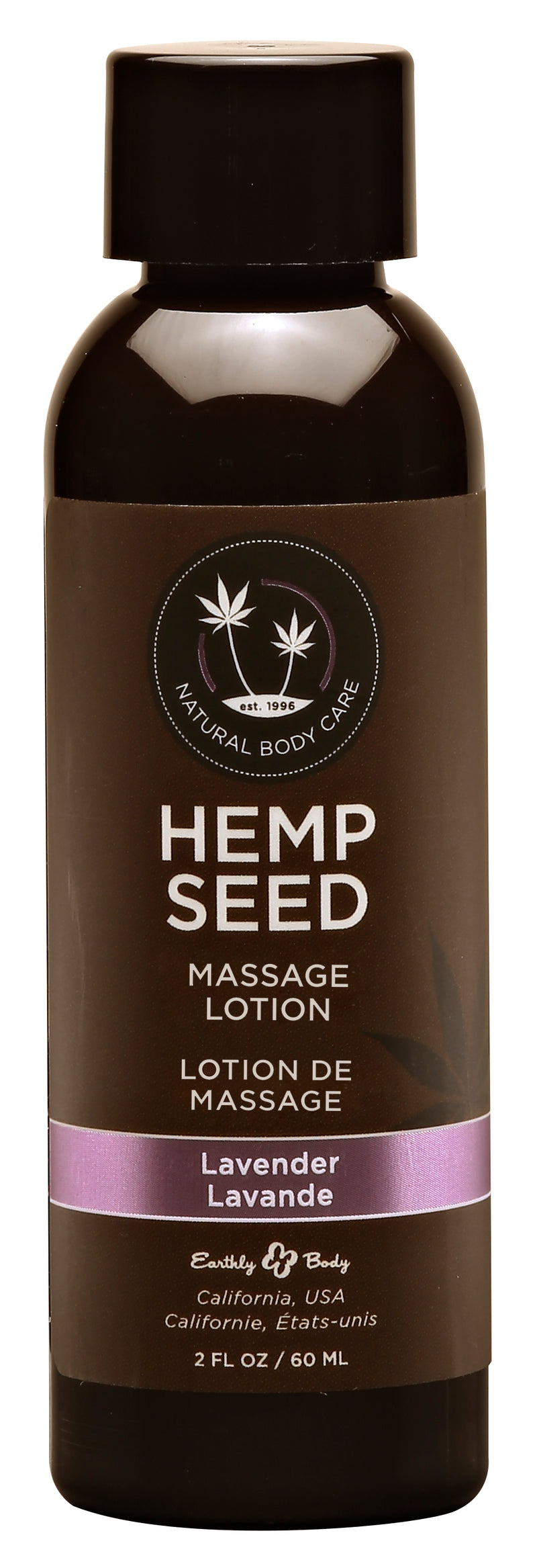 Hemp Seed Massage Lotion - Lavender - 2 Fl. Oz. / 60 ml EB-ML117