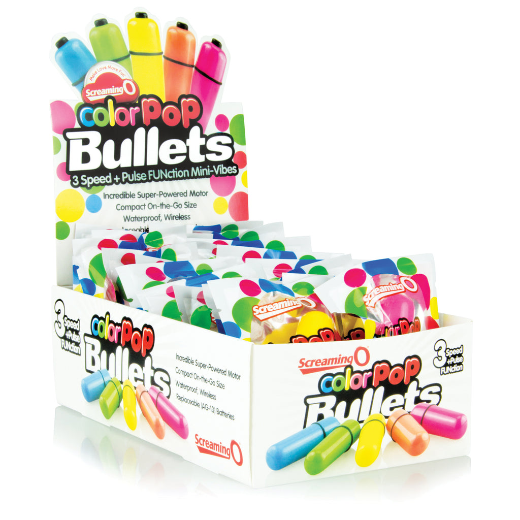 Colorpop Bullets - 20 Count P.O.P. Box Display - Assorted CP-BUL-110D