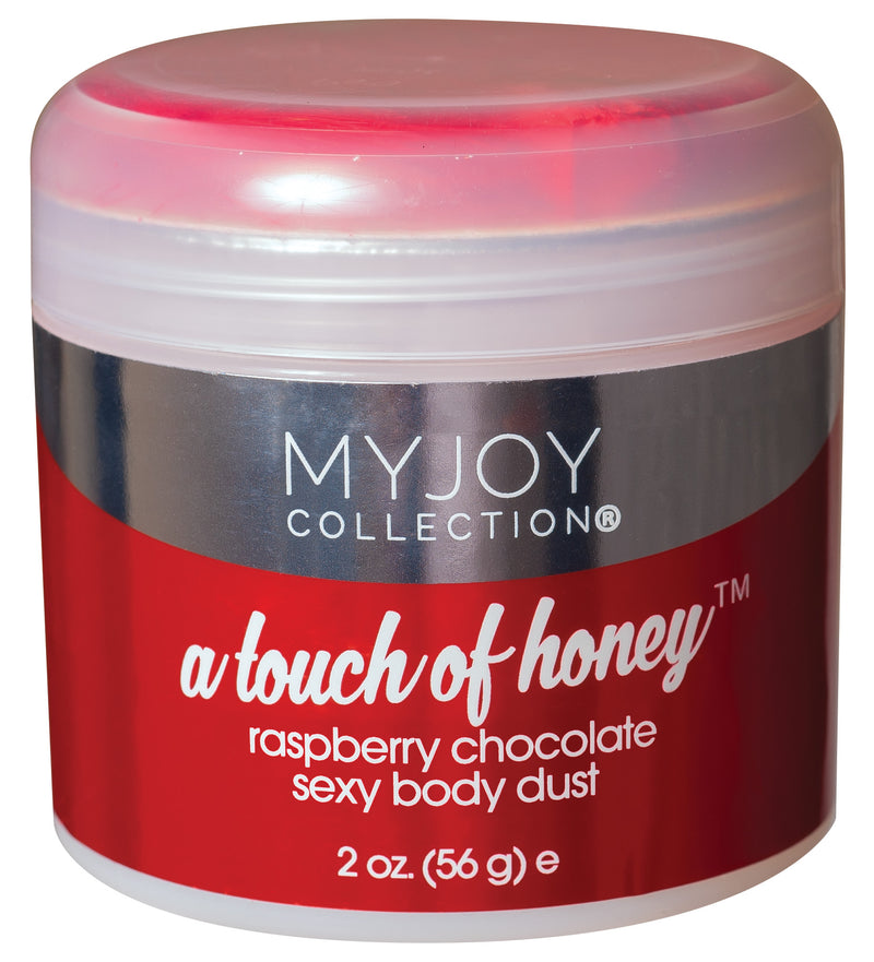A Touch of Honey - Raspberry Chocolate Sexy Body Dust - 2 Oz. Jar (56g) KI1012