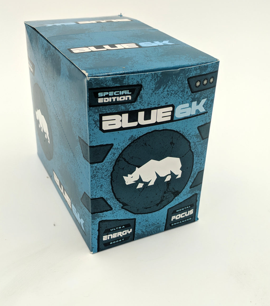 Rhino Blue 6k Pill - 30 Count Display PS-BLUE6KD