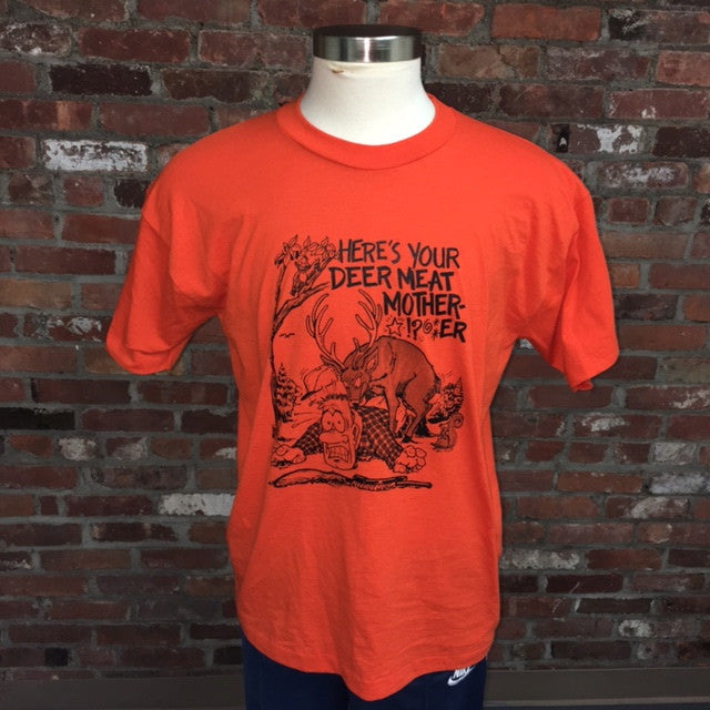 Here's Your Deer Meat T Shirt Mens XL