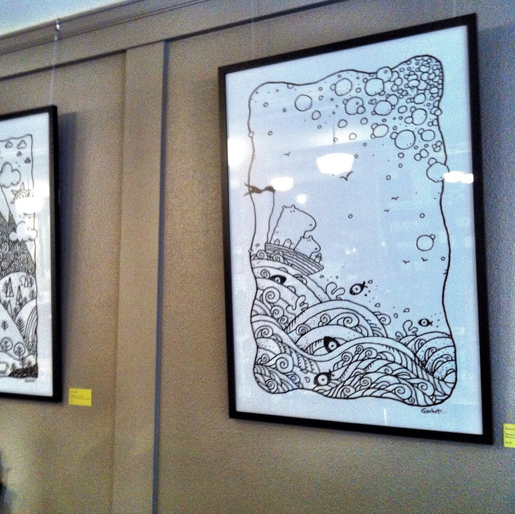 Prints on Display...
