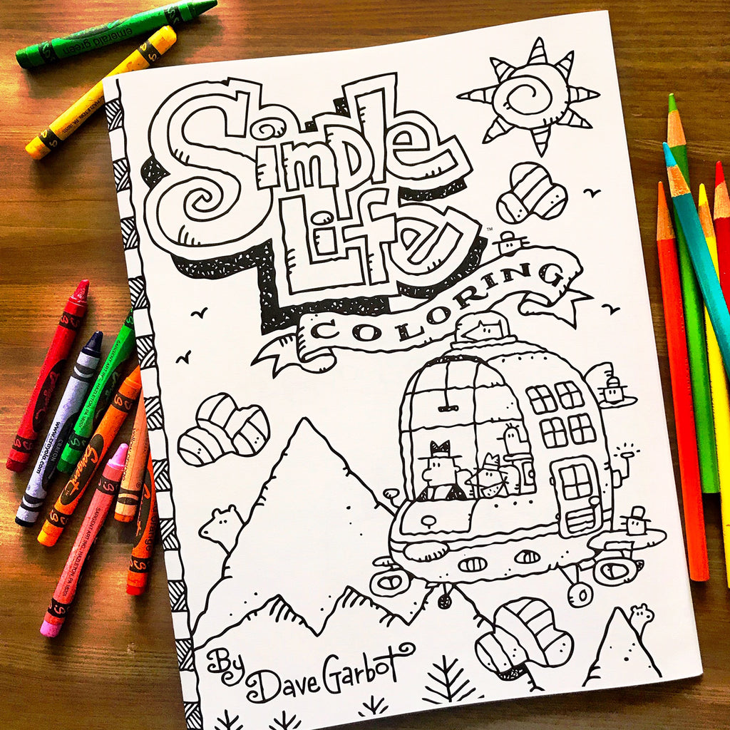 Simple Life Coloring