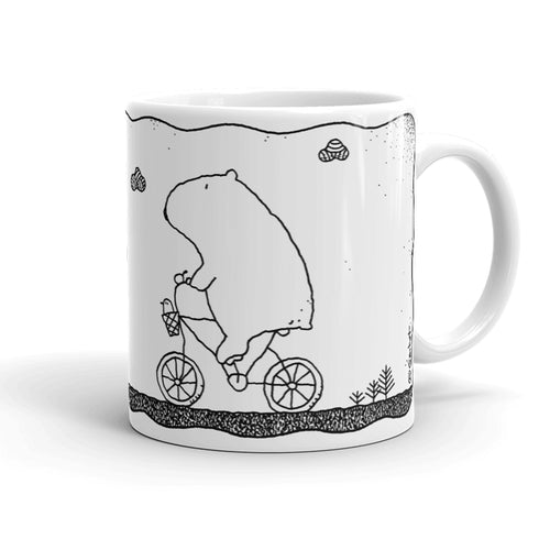 Morning Bike Ride Coffee Mug