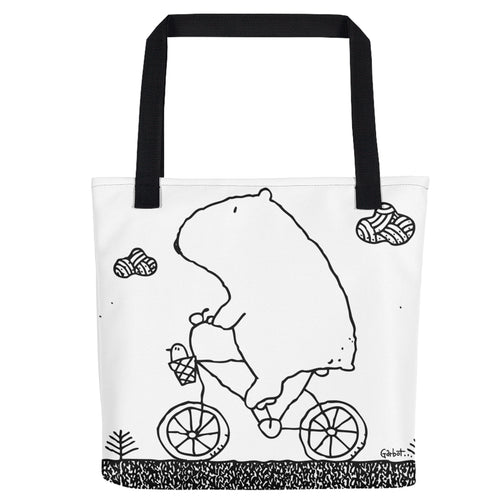 Morning Bike Ride Tote