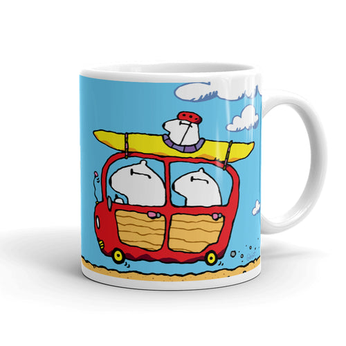 Beach Bears Coffee Mug