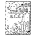 Simple Life Coloring Book