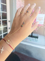 Holding Your Hand Chain Ring Bracelet Combo (Limited Edition)