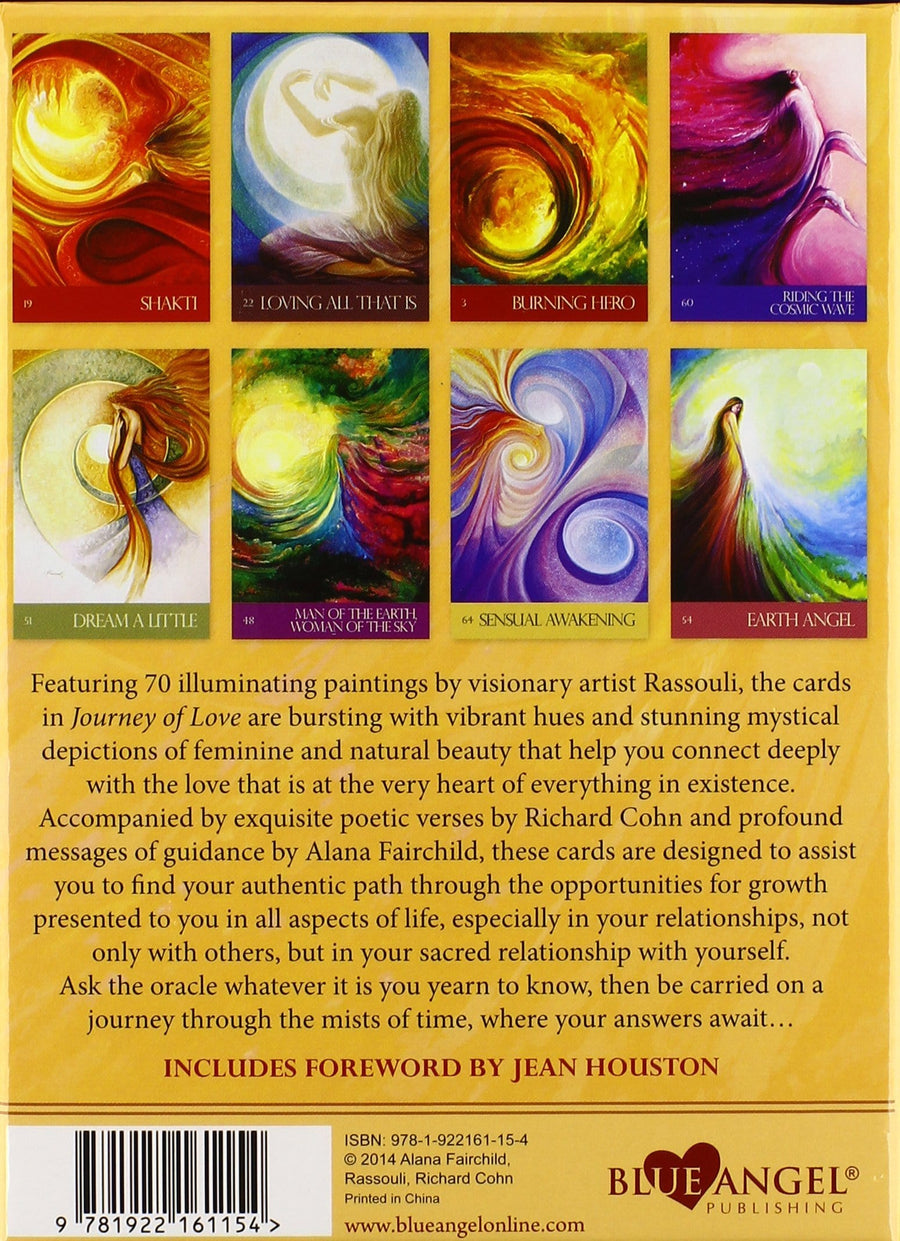 Journey Of Love - Oracle Cards & Guidebook