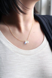 """Believe"" Crystal Pendant Necklace Necklace MaeMae Jewelry"