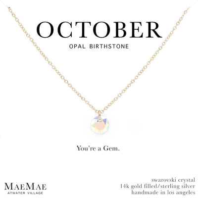 c461f4f39934 October Birthstone Necklace