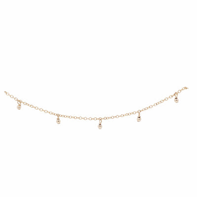 Bridesmaid's Collection - Delicate Dew Drop Bracelet