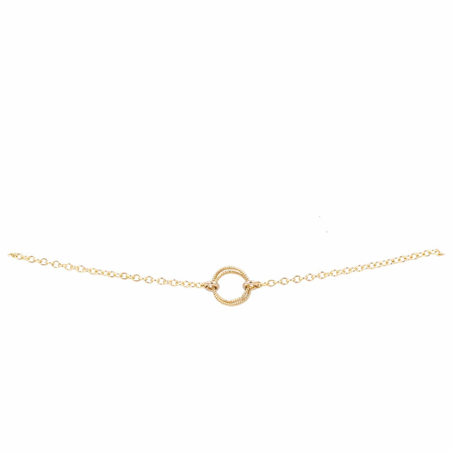 "Bridal Interlocked Circle ""Harmony"" Bracelet"