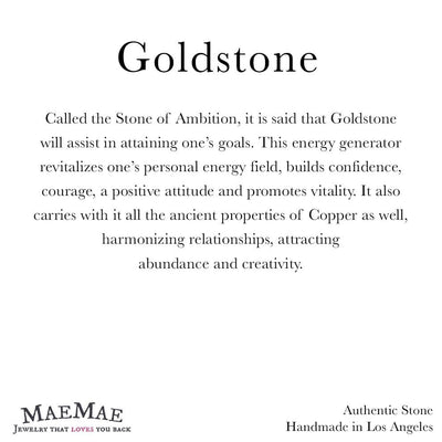 Informational 3.3 x 3.3 card for Goldstone