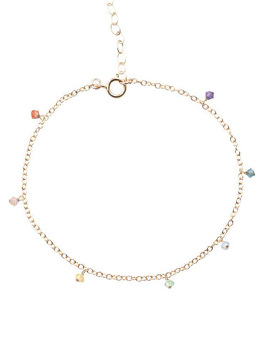 The 7 Chakras Anklet