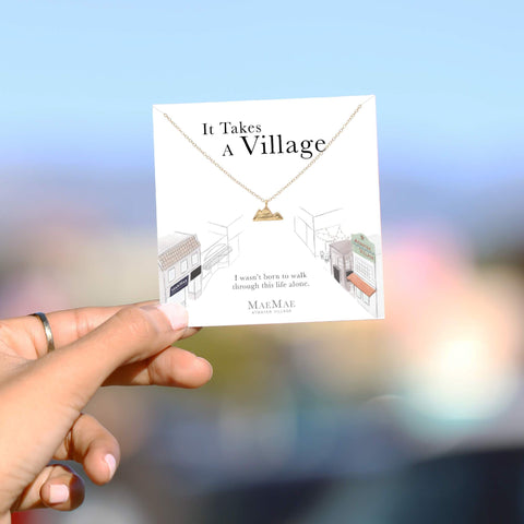 It Takes a Village Necklace