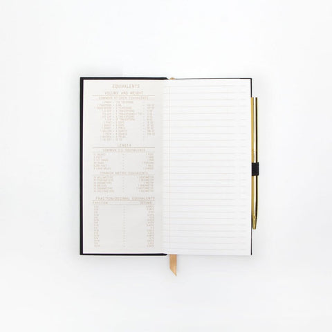 DEEP DARK SECRETS | Skinny Journal with Gold Pen
