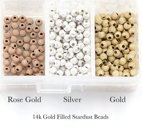 Stardust bead color options for cord I am priceless bracelet Gold, Rose Gold, Sterling Silver - MaeMae Jewelry