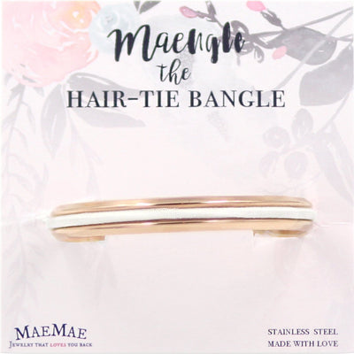 Maengle the Hair-Tie Bangle