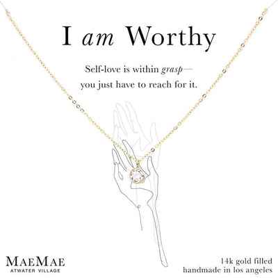 I am Worthy Necklace