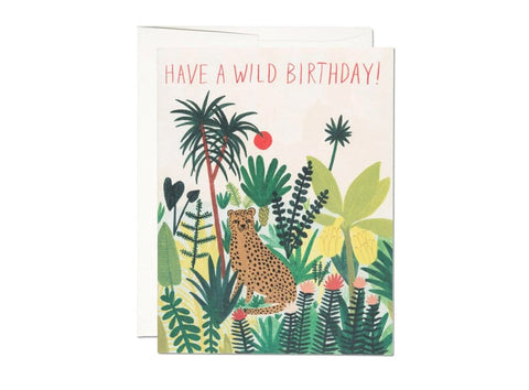 Have a Wild Birthday! (Cheetah Card)