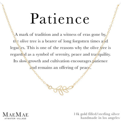 Patience Necklace