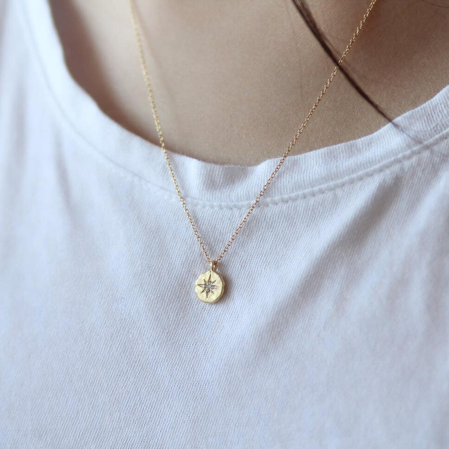 Round Polaris Necklace