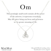 Little Om Necklace