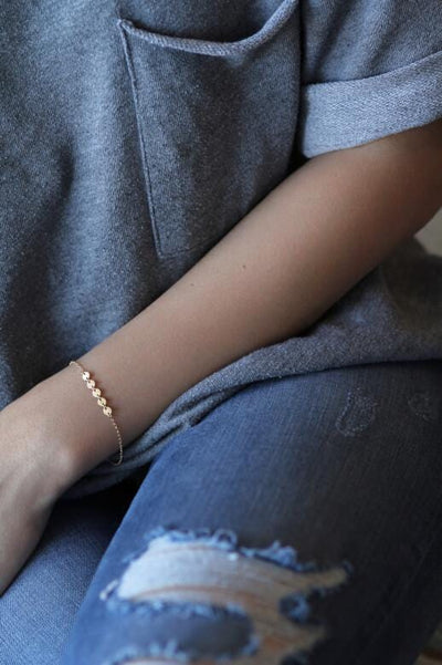 Stay Golden Bracelet