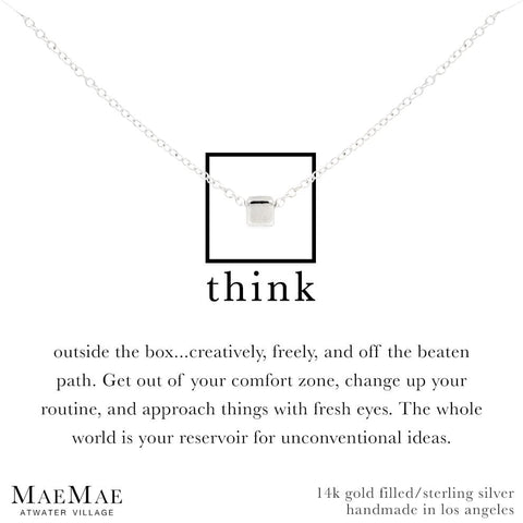 Think Outside the Box Necklace