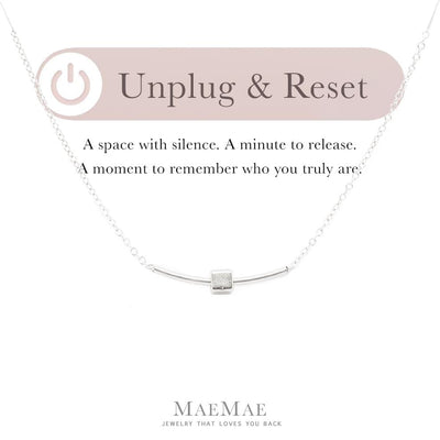 Unplug & Reset Necklace