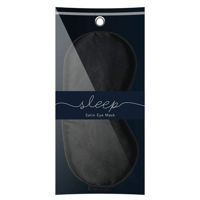 Satin Sleep Mask (Black)