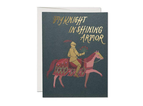 Knight in Shining Armor Card