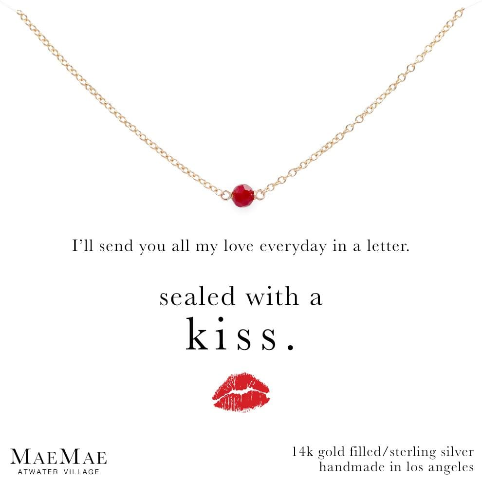 The Kiss Stone Necklace