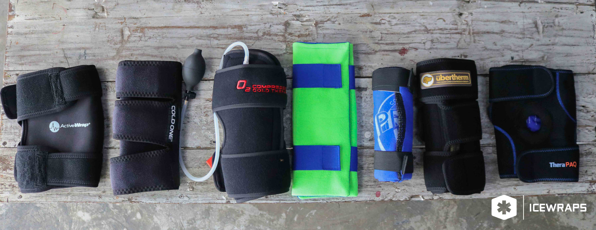 12415ac4ac What Are The Best Cold Therapy Knee Wraps For Pain, Inflammation, and  Post-Op Recovery?