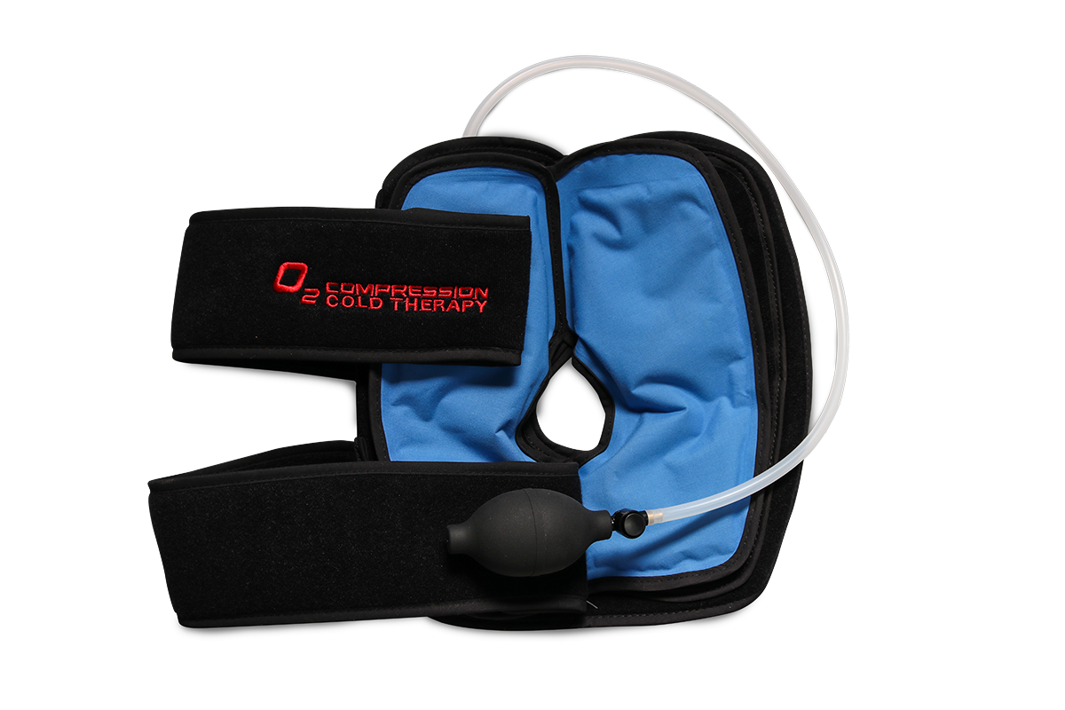 f27fdbfb7d O2 Compression Cold Therapy. - Air compression system complements ice pack  nicely