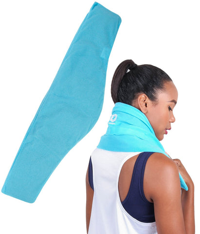 ICEWRAPS EXTRA LARGE NECK ICE PACK WITH SOFT COVER