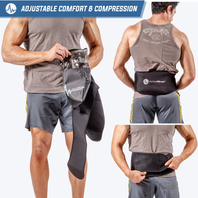 ActiveWrap Back Heat/Ice Compression Therapy Wrap