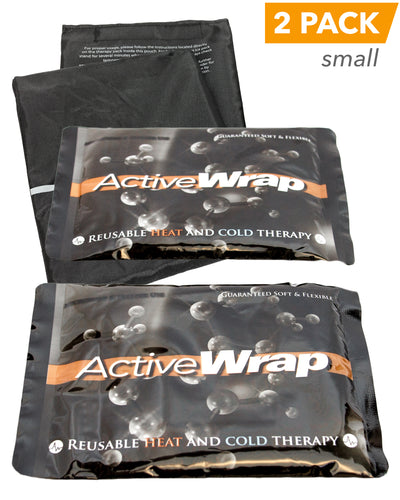 ActiveWrap Reusable Heat/Ice Pack Small, 2 Pack