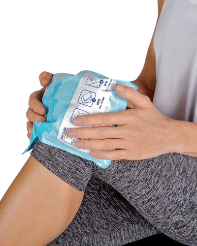 IceWraps Single Use 6x9 Instant Cold Packs, Case of 6