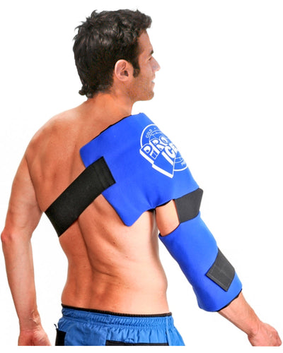 Pro Ice Adult Shoulder and Elbow Cold Therapy Ice Wrap, PI 200